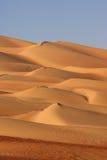 дюны опорожняют четверть Стоковое Изображение