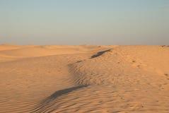 Дюны оранжевого песка Стоковая Фотография RF