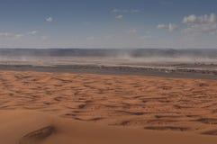 Дюны пустыни Сахары стоковое фото
