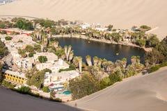 Дюны пустыни Huacachina стоковая фотография