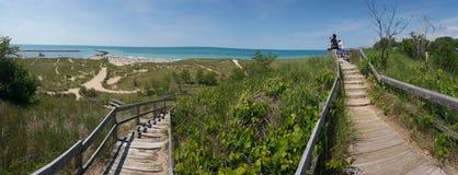 Дюны пляжа Стоковое Изображение