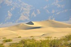 дюны смерти зашкурят долину Стоковое Изображение RF