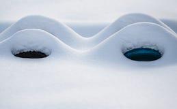 Дюны снега Стоковое фото RF