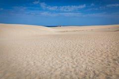 Дюны Corralejo Стоковая Фотография