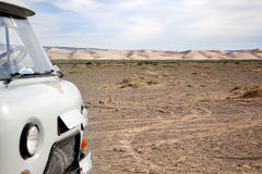 Дюны Hongor стоковое изображение