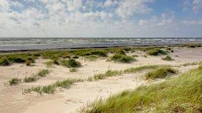 Дюны Liepaja вдоль Балтийского моря Стоковые Изображения