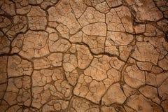 Дюны Mesquite высушили деталь глины в Death Valley Стоковые Изображения