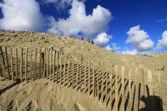 Дюны Touquet стоковое изображение rf