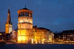 Дюссельдорф Altstadt Стоковая Фотография RF