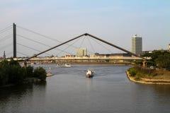 Дюссельдорф в NRW Стоковое Изображение