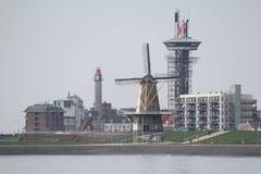 Дядюшка Пляж, Vlissingen, Нидерланды Стоковое Изображение RF