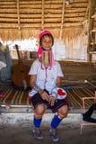 Длинная дама шеи Стоковая Фотография RF