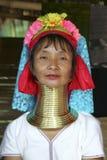 Длинная женщина шеи, Таиланд Стоковая Фотография
