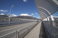 Новый мост Alpini s в Беллуно Стоковое Изображение RF