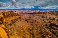 Длинний каньон Юта Стоковая Фотография
