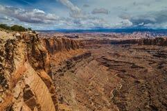 Длинний каньон Юта Стоковое Фото