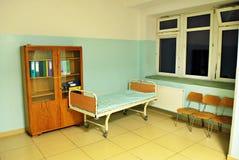 Длинний коридор в больнице Стоковое Изображение RF