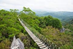 Длинний мост смертной казни через повешение Стоковая Фотография RF