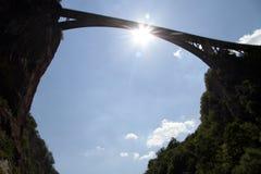 Длинний мост Стоковые Изображения RF