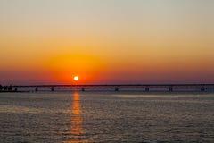 Длинний мост Стоковое Фото
