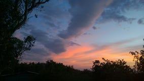 Длинное облако Стоковое Изображение RF