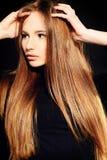 Длинные волосы стоковое изображение rf