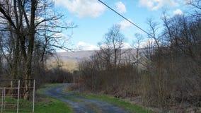 Длинные подъездные дороги стоковое изображение