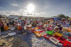 Длинный рыбный базар Hai Стоковое Фото