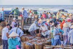 Длинный рыбный базар Hai Стоковые Изображения RF