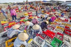 Длинный рыбный базар Hai Стоковые Фотографии RF