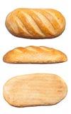 Длинный хлебец изолированный на белой предпосылке Стоковые Изображения
