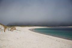 Длиной пошлите пляж, атлантические острова национальный парк, Испанию стоковое фото
