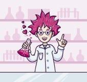 Д-р Влюбленность Стоковое Изображение