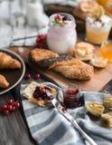 Для завтрака Стоковая Фотография