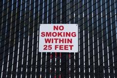 Для некурящих знак Стоковые Изображения