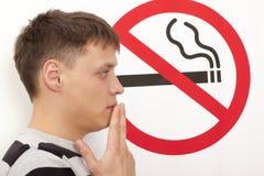 Для некурящих концепция Стоковое Изображение RF