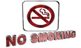 Для некурящих иллюстрация вектора