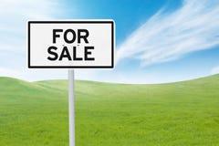 Для продажи взойдите на борт для того чтобы повысить свойство дела стоковые фотографии rf