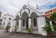Евангелистская церковь Сиона лютеранина Стоковые Изображения RF