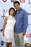 Ева Longoria и Cristian de Ла Fuente Стоковые Фотографии RF