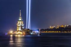 девичая башня s Стоковые Фото