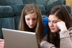 Конец изучения подростка вверх Стоковое Фото