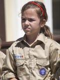девочка-скаут Стоковая Фотография RF