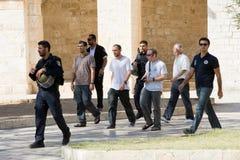 Евреи на виск-квадрате Стоковая Фотография RF