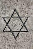 еврейская звезда стоковая фотография