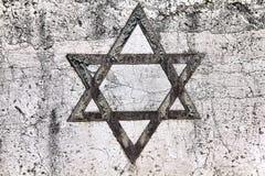 Еврейская звезда Стоковые Изображения