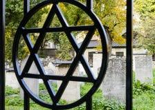 Еврейская звезда стоковое изображение