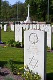 Еврейская могила мировой войны 2 Стоковое Изображение
