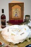 еврейская пасха обеда торжеств Стоковое фото RF