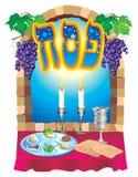еврейская пасха иллюстрация штока